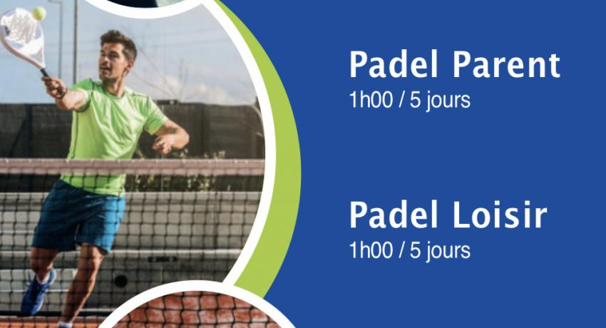 Stages padel